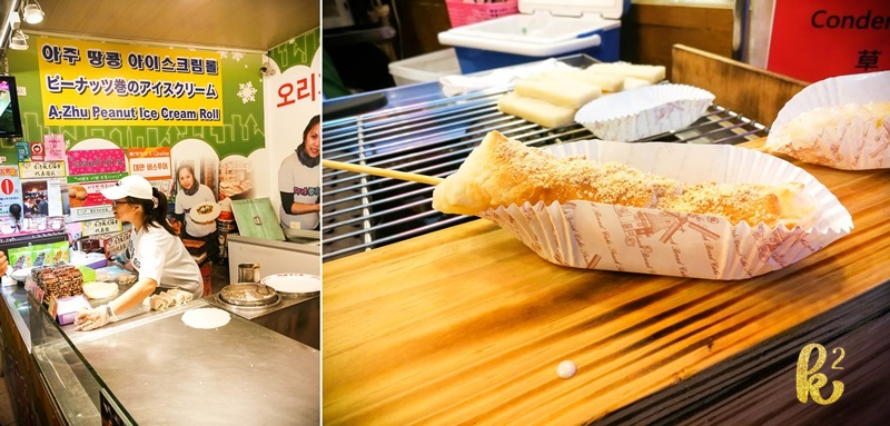 15 food places to try in taiwan, taiwan food blog, taiwan food trip, taiwan food places, jiufen, mochi, ice cream roll